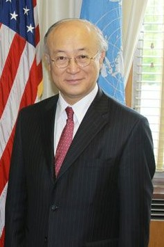IAEA Chief Yukiya Amano. Credit: Wikimedia Commons
