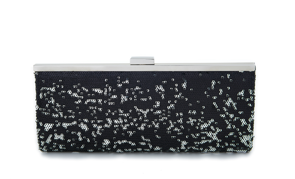 Style & Co Carolyn Sequin Clutch. Credit: Macy's.