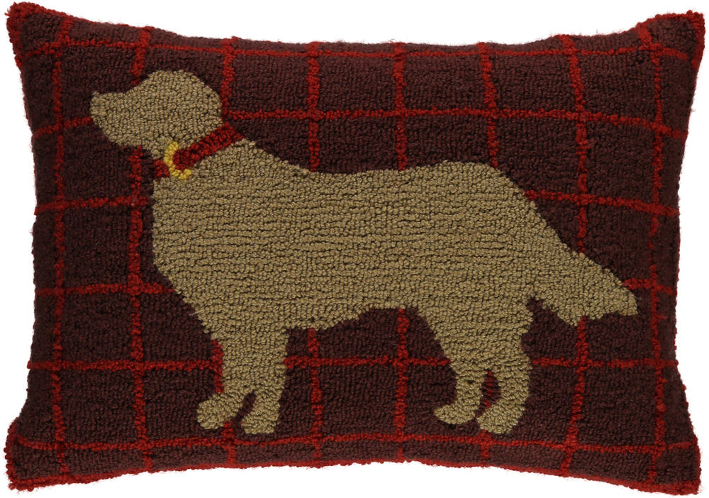 Martha Stewart Collection Golden Retriever Pillow. Credit: Macy's.