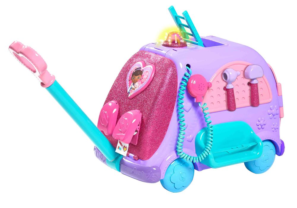 "The Doc McStuffins Get Better Talking Mobile Cart. Credit: Toys""R""Us."