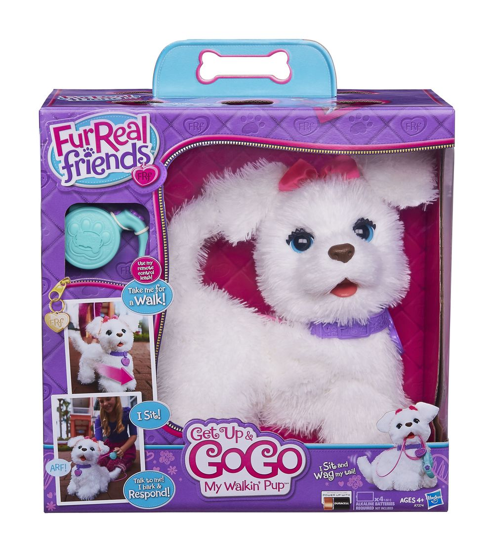 "The FurReal Friends® Get Up and Go Go My Walkin' Pup Pet. Credit: Toys""R""Us."