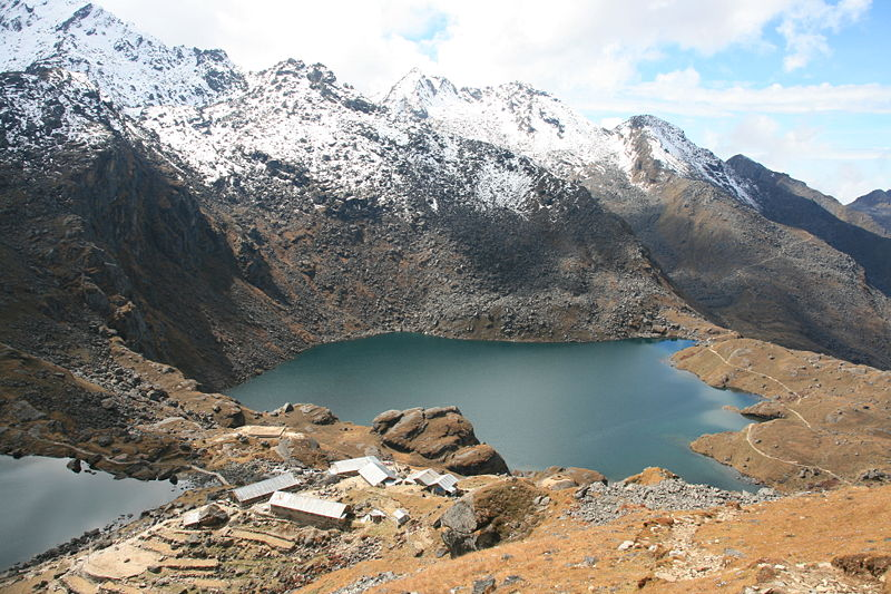 Langtang National Park in Nepal. Credit: Wikimedia Commons.