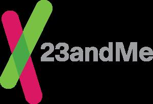 The23andMe logo. Credit:23andMe.