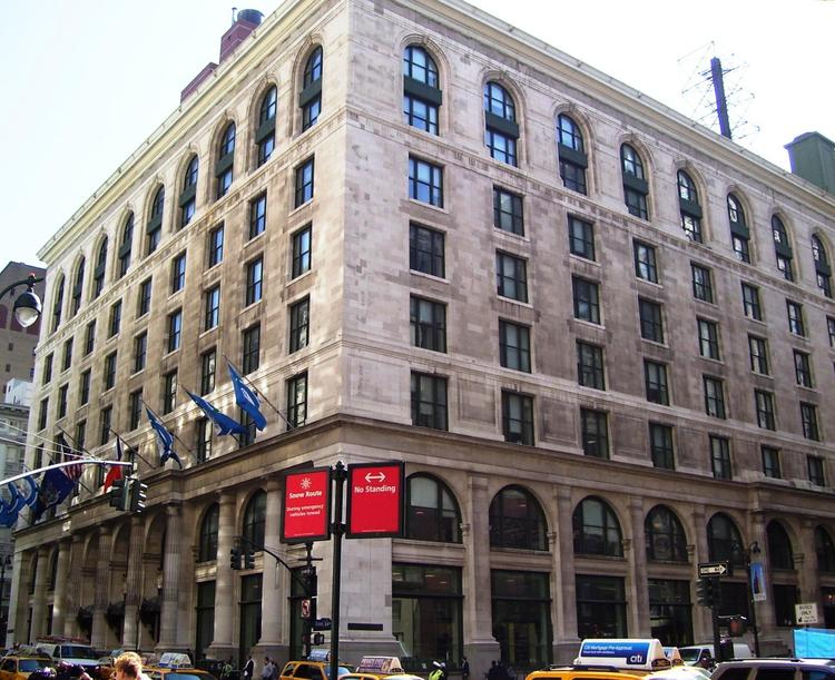 The CUNY graduate center. Credit: Wikimedia Commons.