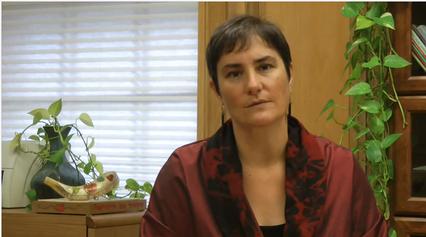 Rabbi Deborah Waxman. Credit: YouTube screenshot.