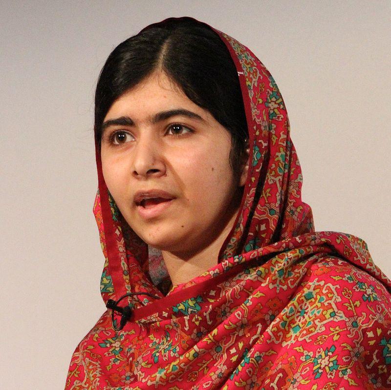 Malala Yousafzai. Credit: Wikimedia Commons.