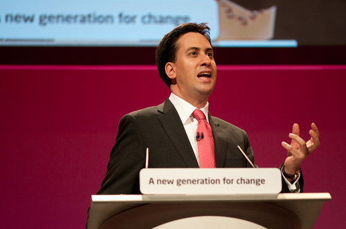 "Click photo to download. Caption: British-Jewish actress Maureen Lipman wrote that she is so disillusioned with the stance on Israel of Labour Party leader Ed Miliband (pictured) that she will not vote for Labour ""for the first time in five generations."""