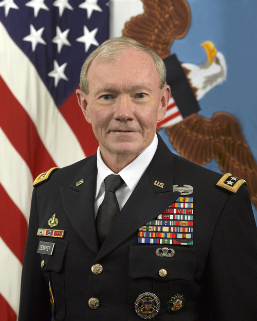 General Martin Dempsey. Credit: U.S. Department of Defense.