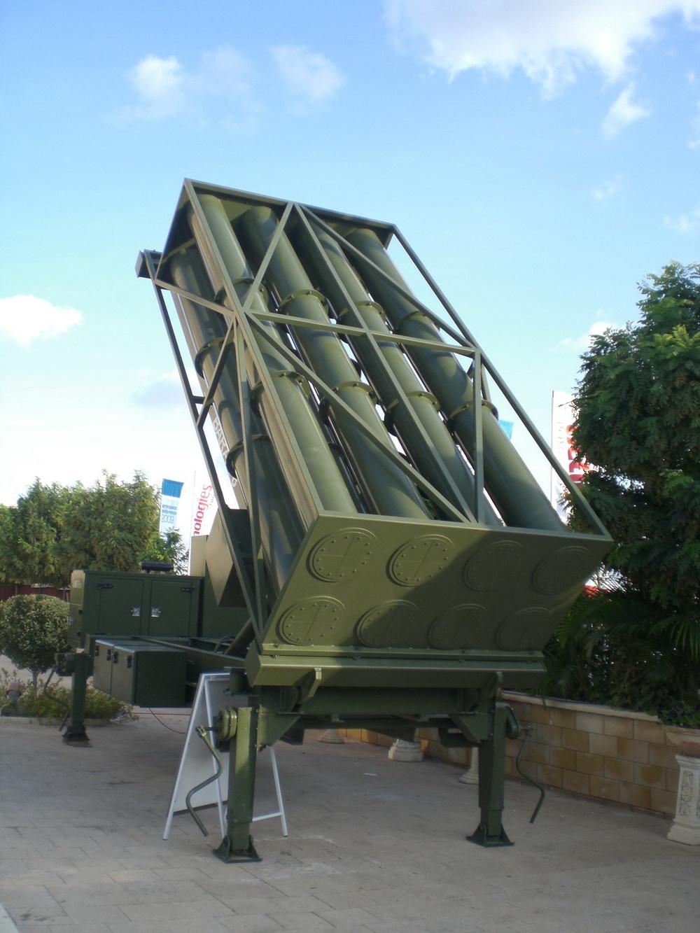 IAI's Barak-8 missile launcher. Credit: Wikimedia Commons.