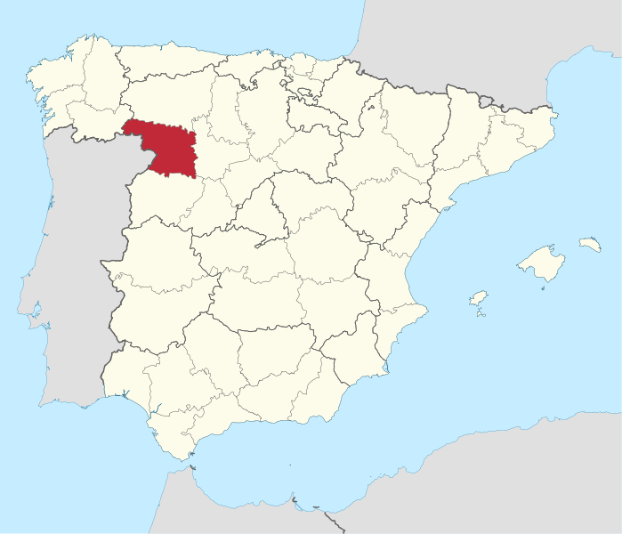 The Zamora region in Spain. Credit: Wikimedia Commons.