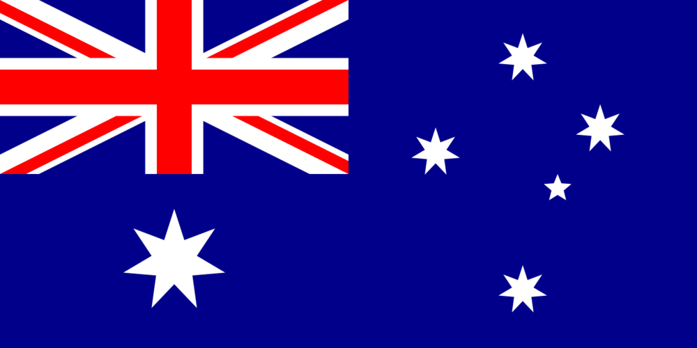 The Australian flag. Credit: Wikimedia Commons.