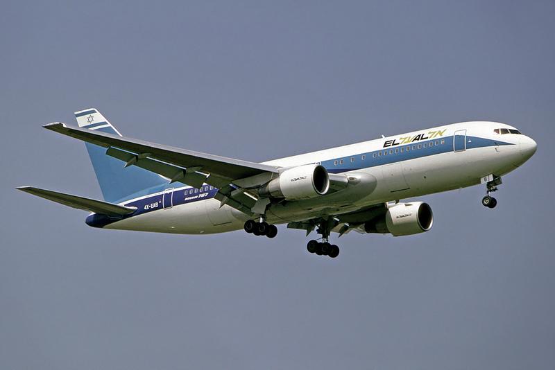 An El Al plane. Credit: Steve Fitzgerald.