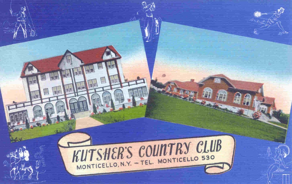 Click photo to download. Caption: A Kutsher's postcard. Credit: Courtesy Mark Kutsher.