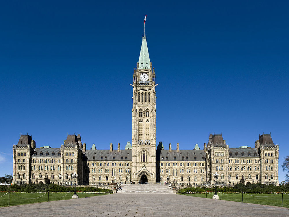 The Canadian Parliament, where Sergeant-at-Arms Kevin Vickers shot terrorist Kevin Vickers in October. Credit: Wikimedia Commons.
