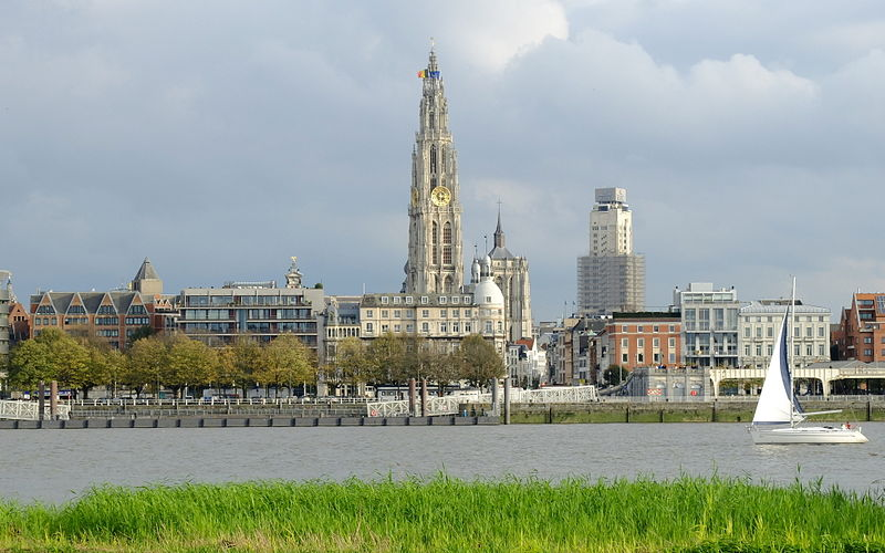 Antwerp, Belgium. Credit: Wikimedia Commons.