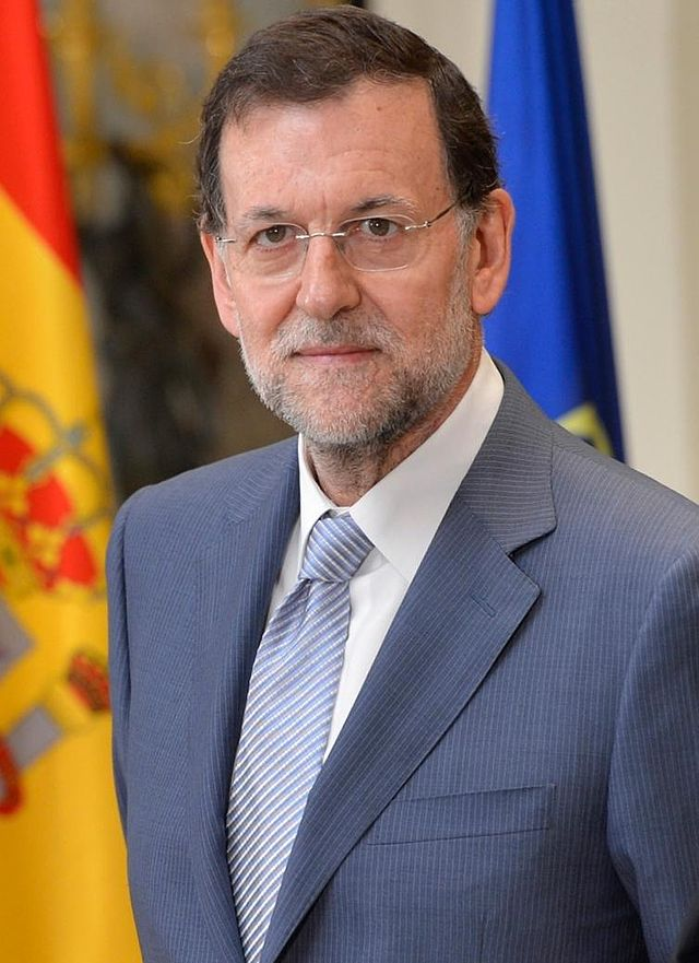 Spanish Prime Minister Mariano Rajoy. Credit: Wikimedia Commons.