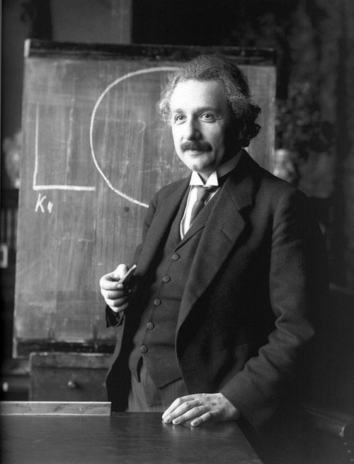 Albert Einstein. Credit: Wikimedia Commons.