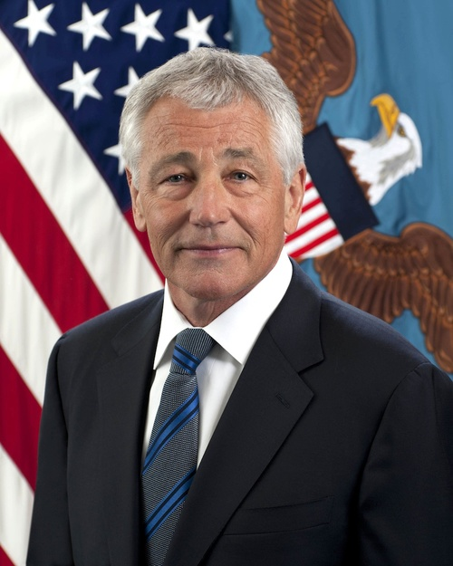 Defense Secretary Chuck Hagel. Credit: Department of Defense.