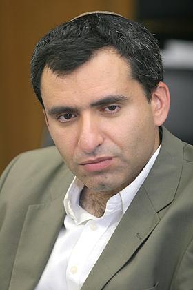 "MK Zeev Elkin, initiator of the ""Jewish state"" bill. Credit: Wikimedia Commons."
