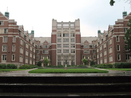 Click photo to download. Caption: Tower Court at Wellesley College. Credit: Jared and Corin via Wikimedia Commons.