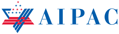 AIPAC logo. Credit: Wikimedia Commons.
