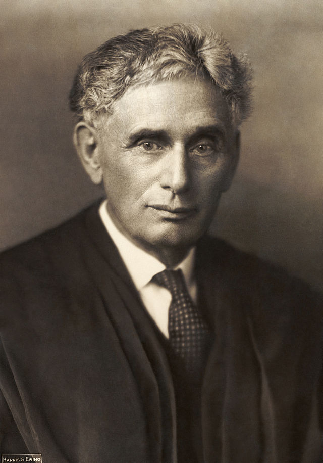 Click photo to download. Caption: Supreme Court Justice Louis D. Brandeis (pictured) surprised many with his take on immigration in 1939. Credit: Harris & Ewing - Library of Congress Prints and Photographs Division.