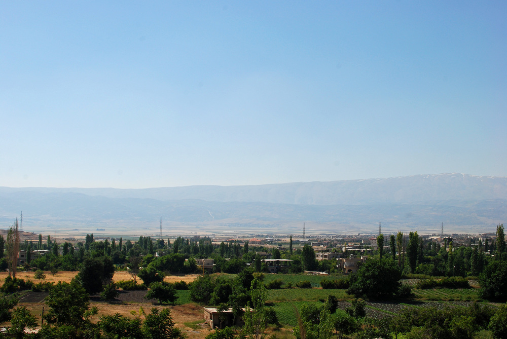 Lebanon's Beqaa Valley. Credit: Wikimedia Commons.