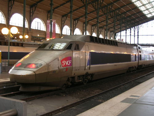 An SNCF train. Credit: Wikimedia Commons.