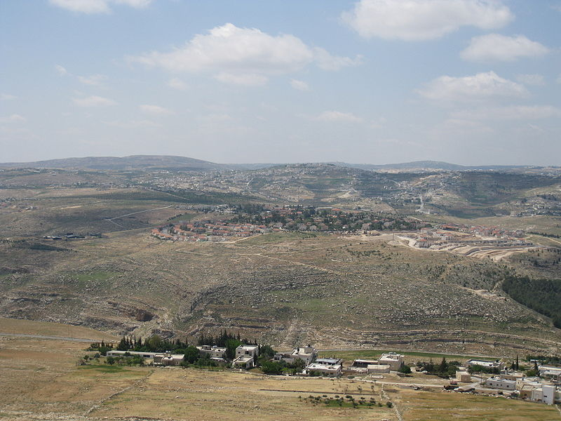 A view of Tekoa, south of Jerusalem. Credit: Wikimedia Commons.
