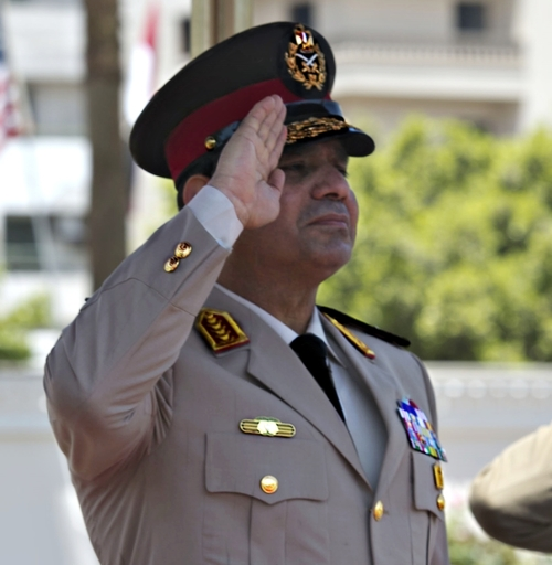 Egyptian President Abdel Fattah El-Sisi. Credit:Erin A. Kirk-Cuomo/Secretary of Defense via Wikimedia Commons.