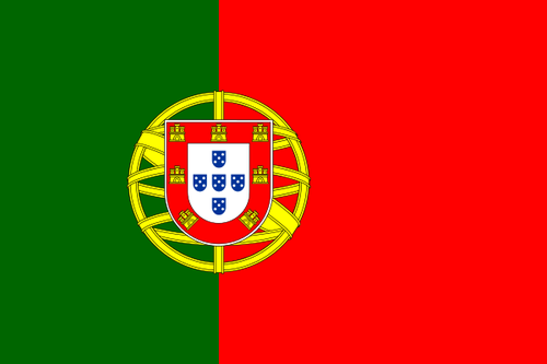 The flag of Portugal. Credit: Wikimedia Commons.