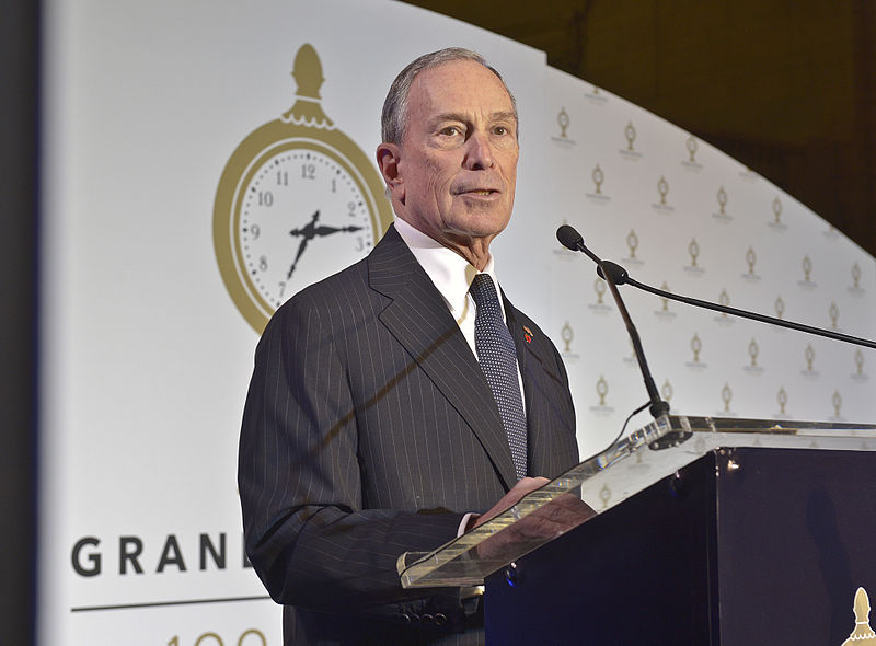 Former New York City mayor Michael Bloomberg. Credit: Metropolitan Transportation Authority/Patrick Cashin.
