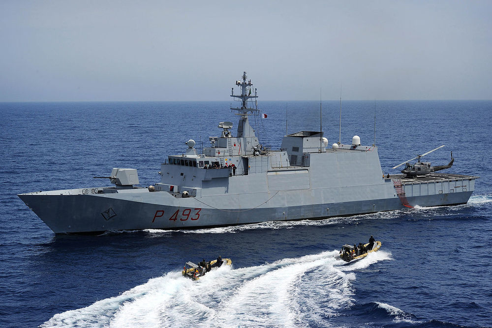A corvette warship. Credit: Wikimedia Commons.