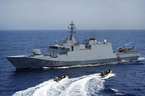 A corvette warship. Credit: Wikimedia Commons.
