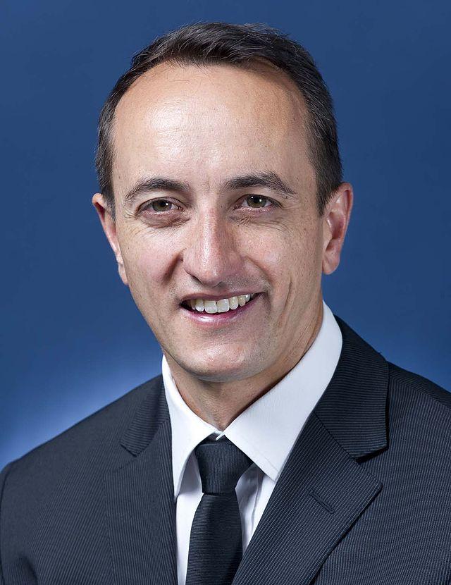 Australian Ambassador to Israel Dave Sharma. Credit: Wikimedia Commons.