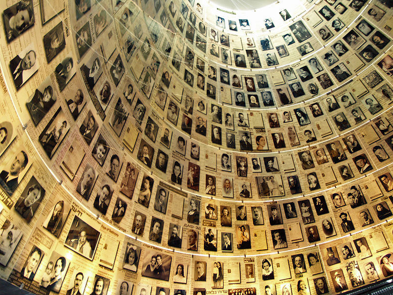 "Click photo to download. Caption: The ""Hall of Names"" commemorating victims of the Holocaust at Israel's official Holocaust memorial, Yad Vashem. Credit: David Shankbone via Wikimedia Commons."