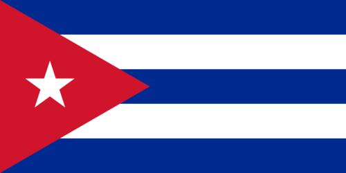 The Cuban flag. Credit: Wikimedia Commons.