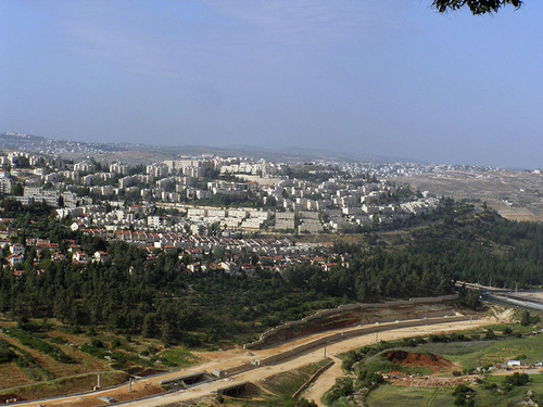 The Jerusalem neighborhood of Ramot. Credit: Wikimedia Commons.