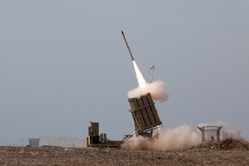 Israel's Iron Dome anti-missile system. Credit: Wikimedia Commons.