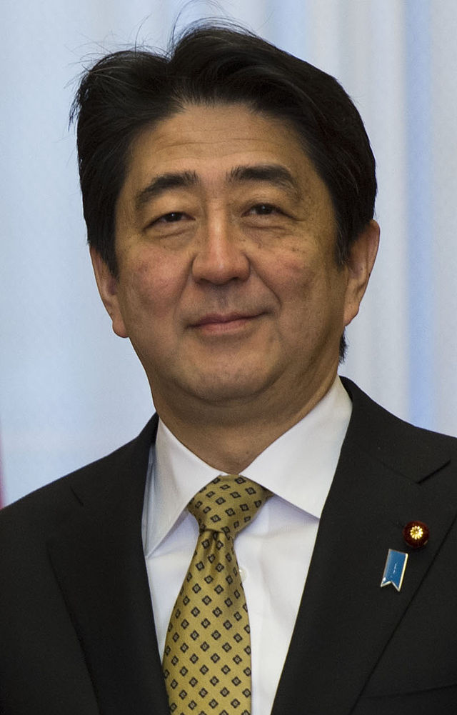Japanese Prime Minister Shinzo Abe. Credit: DoD Photo by Erin A. Kirk-Cuomo.