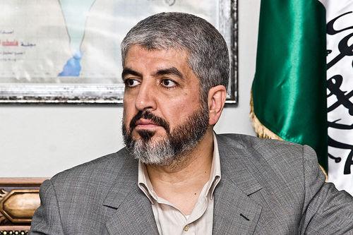 Khaled Mashaal. Credit: Trango via Wikimedia Commons.