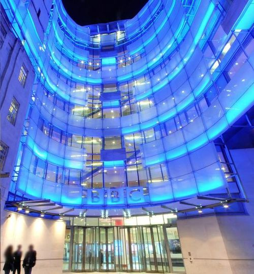 The BBC broadcasting building. Credit: Wikimedia Commons.