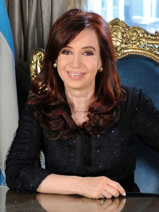 Argentine President Cristina Fernández de Kirchner. Credit: Wikimedia Commons.