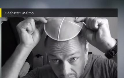 An image from Swedish journalist Peter Lindgren's video. Credit: Screenshot.