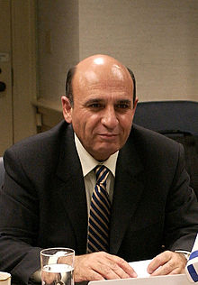 Former Israeli Defense Minister and Kadima party leader Shaul Mofaz. Credit: Wikimedia Commons.