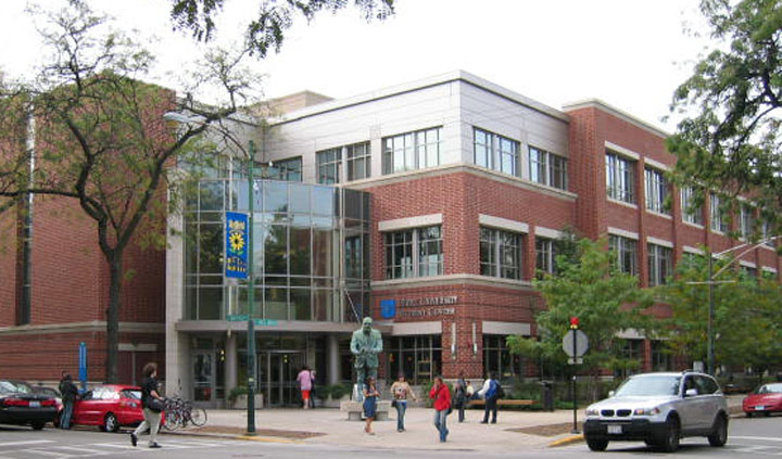 The Student Center at DePaul University. Credit: Wikimedia Commons.