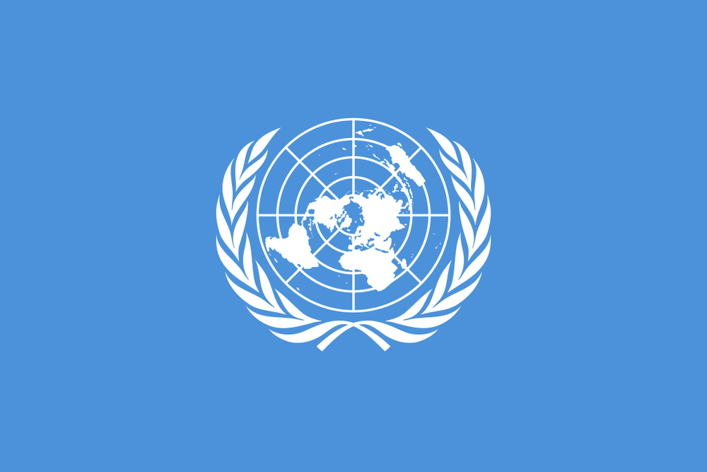 The United Nations flag. Credit: U.N.