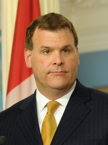 Canadian Foreign Minister John Baird. Credit: Wikimedia Commons.