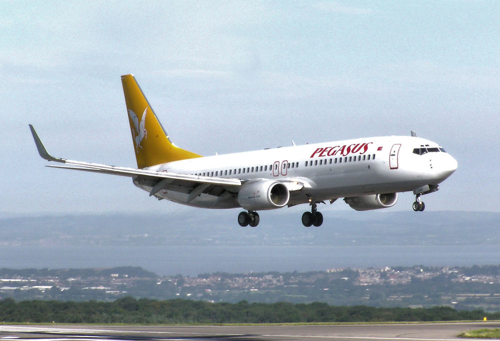 A Pegasus Airlines plane. Credit: Wikimedia Commons.