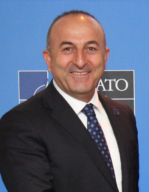 Turkish Foreign Minister Mevlut Cavusoglu. Credit: Wikimedia Commons.